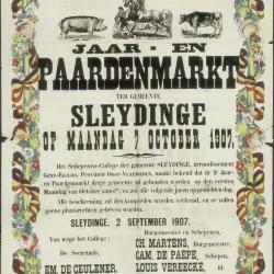 Jaar- en paardenmarkt Sleidinge