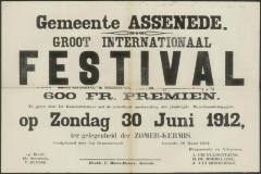 Groot internationaal festival Assenede