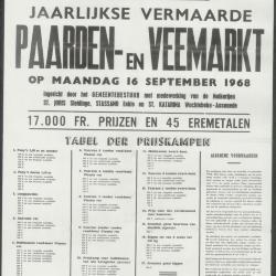 Paarden- & veemarkt Oosteeklo