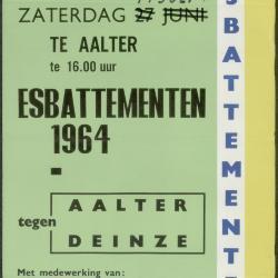 Esbattementen 1964 Aalter