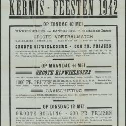 Kermis-feesten 1942 Maria - Aalter
