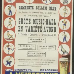 Grote Music-Hall en Variété-avond Bellem