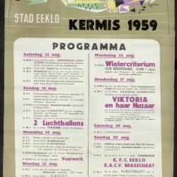 Kermis 1959 Stad Eeklo