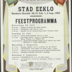 Feestprogramma Stad Eeklo