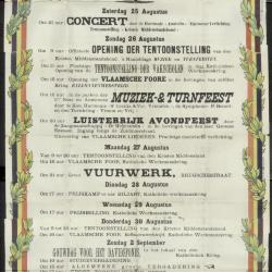 Kermis 1923 Stad Eeklo