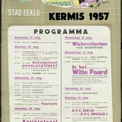 Kermis 1957 Stad Eeklo