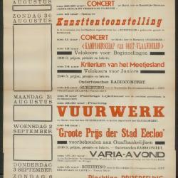 75e Verjaring van 's lands onafhankelijkheid Gent