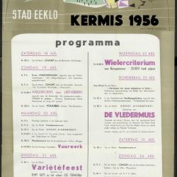 Kermis 1954 Stad Eeklo