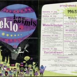 Feestprogram Kermis 1950 Stad Eeklo
