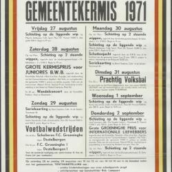 Gemeentekermis 1971Kaprijke