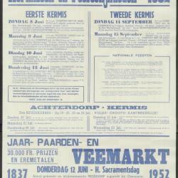 Gemeentefeesten 1952 Deinze