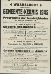 Gemeente-Kermis 1945 Waarschoot