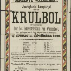 Paaschkermis 1947 Waerschoot