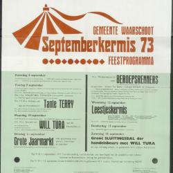 Schietingskalender 1973-1974 Waarschoot