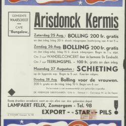Kermis 1930 Waerschoot